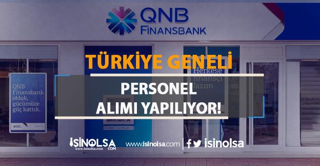 Finansbank Türkiye Geneli Personel Alımı Yapıyor: Yetkili Yardımcısı İlanı 2019