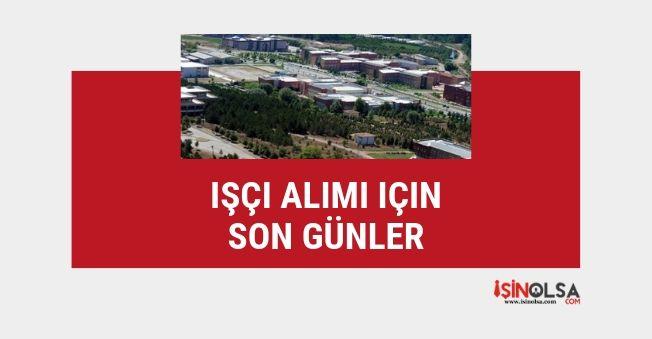 Gaziosmanpaşa Üniversitesi 5 işçi alımı başvurusu için son günler