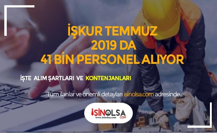 Kamu ve Özele Türkiye Geneli 1380 Pozisyon İle 41 Bin Personel Alımı!