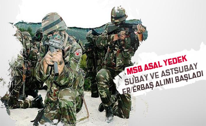 MSB Yedek Subay, Astsubay, Bedelli Askerlik ve Er/Erbaş Alımı Başladı!