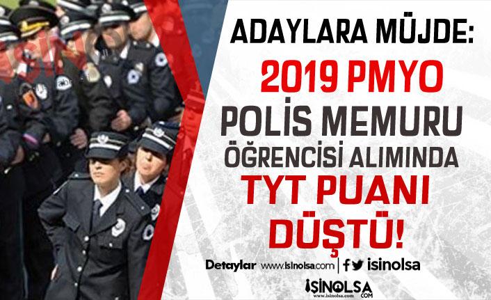 2019 PMYO Polis Memuru Alımında TYT Puanı Düştü