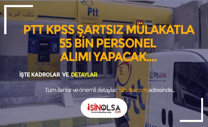 PTT 55 Bin Personel Alımında KPSS Şartı Yok