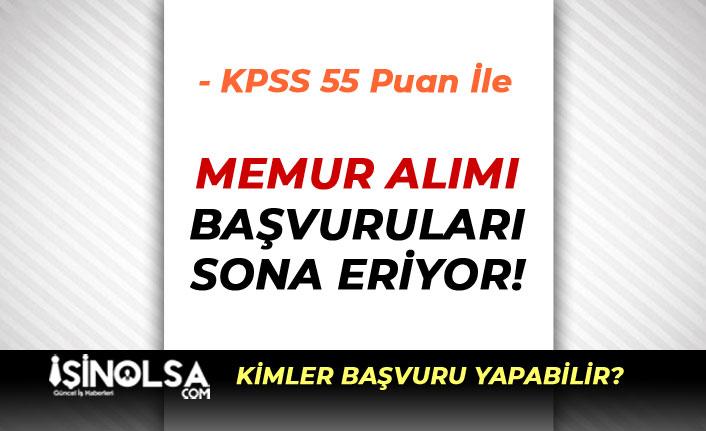 Belediye KPSS 55 Puan İle Memur Alımı ( İtfaiye Eri ) Alımı Sona Eriyor!