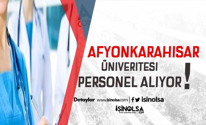 Afyonkarahisar Sağlık Bilimleri Üniversitesi KPSS ile 120 Ebe, Hemşire ve Sağlık Personeli Alıyor