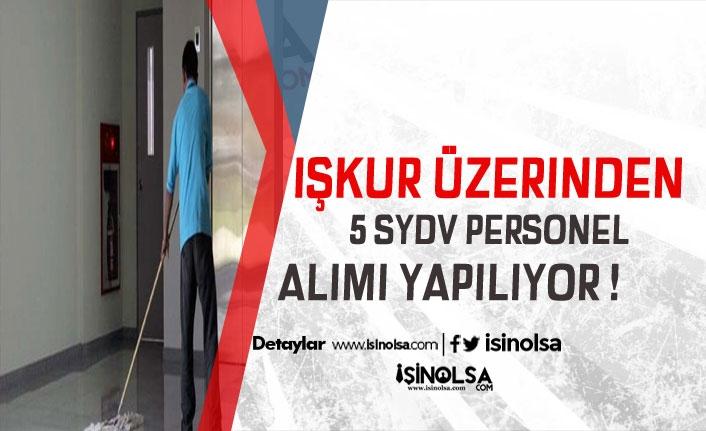 Giresun ve Kırıkkale SYDV KPSS Şartsız 5 Personel Alacak