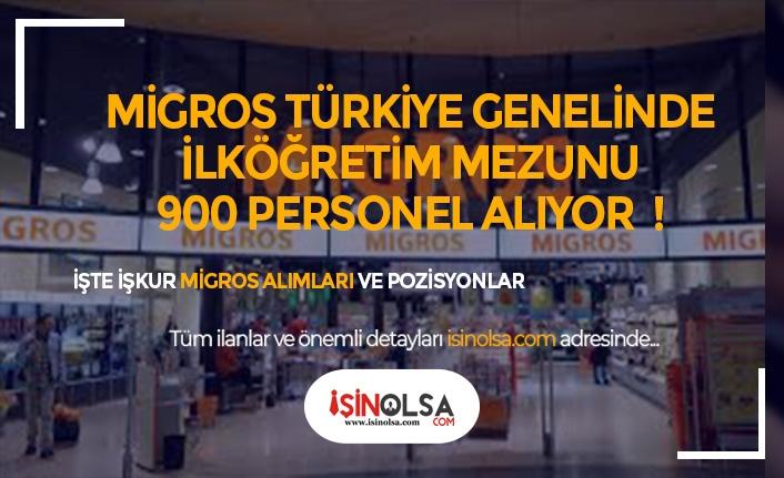 Migros İstanbul'da İlköğretim Mezunu 900 Personel Alacak! Başvuru Şartları ve Kadrolar Neler?