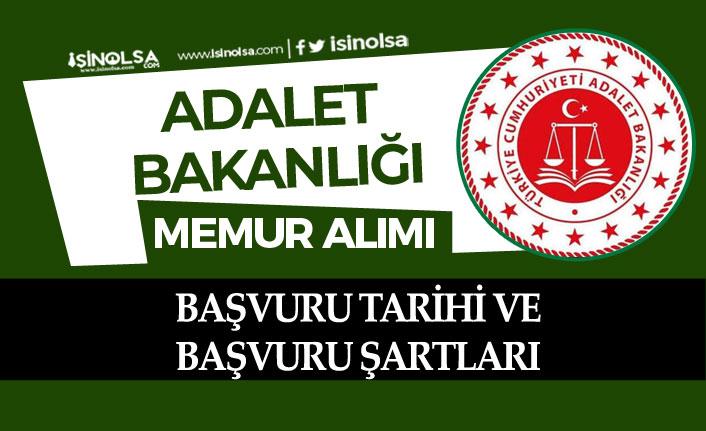 Adalet Bakanlığına Memur Personel Alımı Yapılacak! Başvuru Şartı ve Başvuru Tarihleri!