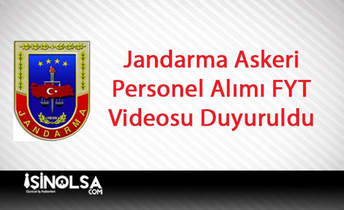 Jandarma Genel Komutanlığı Askeri Personel Alımı FYT Parkur Videosu Yayımladı