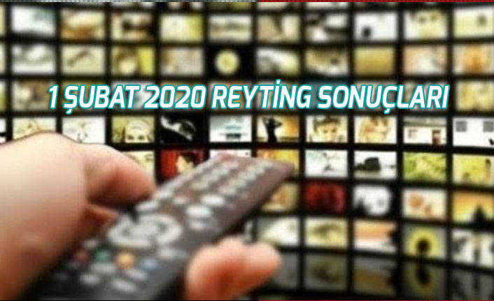1 Şubat 2020 Reyting Sonuçlarında O Ses Türkiye, Kuzey Yıldızı, Zümrüdüanka Kim Zirvede
