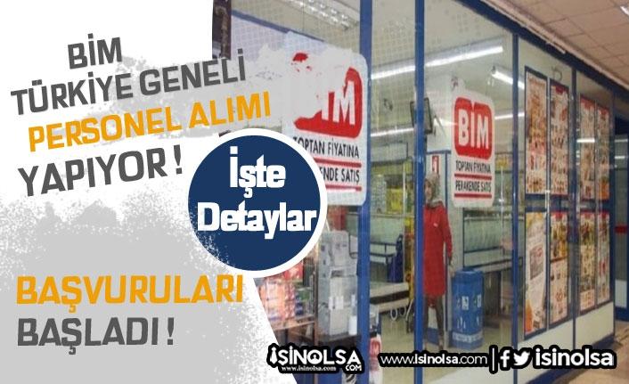 BİM Türkiye Geneli 332 Personel Alımı Yapılacak!