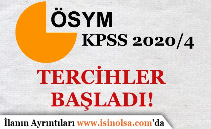 KPSS 2020/4 Sağlık Bakanlığı Tercihleri Başladı! Anlaşmalı Bankalar ve Tercih Ücreti ?