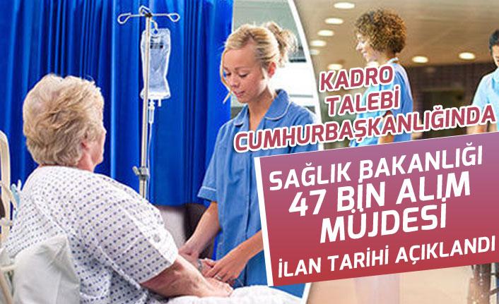 Sağlık Bakanlığına 47 Bin Personel Alımı Müjdesi! İlan Tarihi Açıklandı!