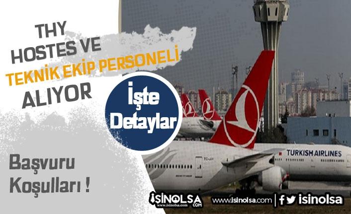 Türk Hava Yolları 2020'de Personel Alacak !