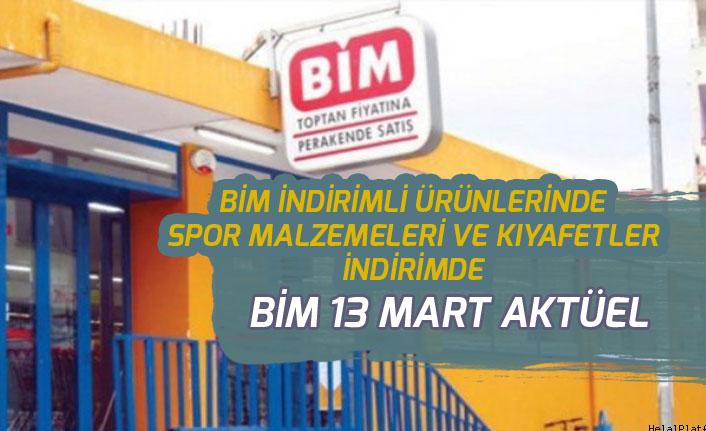 13 Mart Cuma Bim Aktüel İndirimlerinde Spor Malzemeleri de Var!