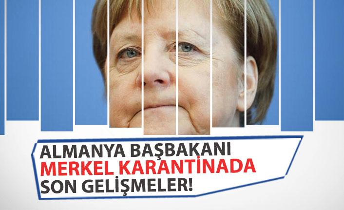 Almanya Başbakanı Merkel Koronovirüsten Karantinaya Alındı!
