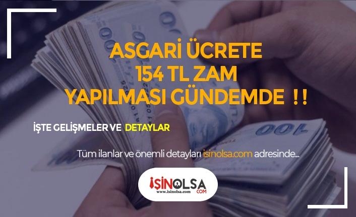 Asgari Ücretliye Ayda 154 TL Zam Yolda!