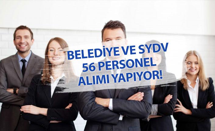 Belediyelere Daimi ve Geçici 56 Personel Alımı Açıklandı!