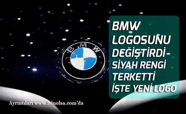 BMW Yeni Logosunda Siyah Rengi Terketti! işte Eski-Yeni Logo Farkı