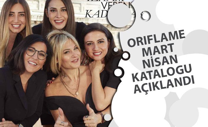 Oriflame 8 Mart Kadınlar Günü ve Nisan Katalogu Açıklandı 2020