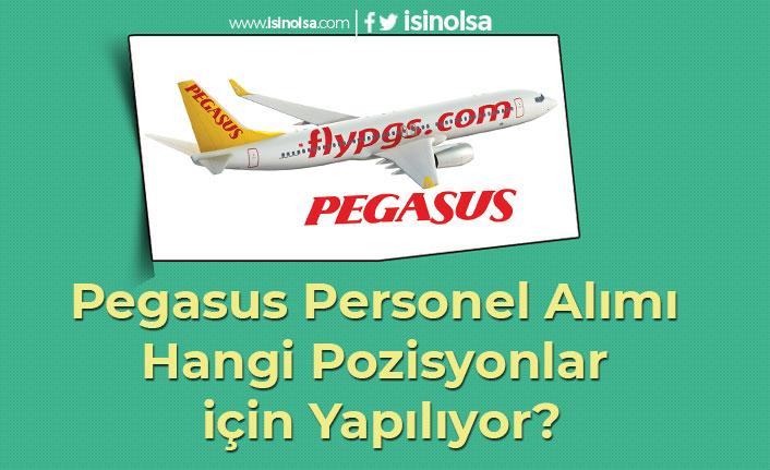 Pegasus Personel Alımı Hangi Pozisyonlar için Yapılıyor?