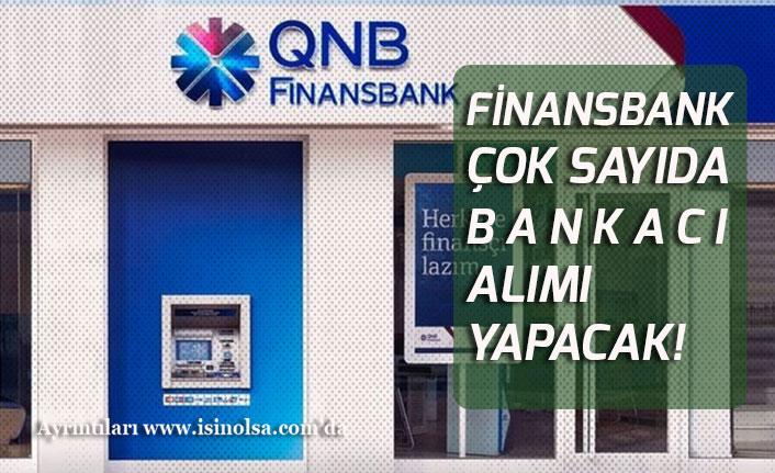 QNB Finans Bank Lise Mezunu Bankası Gişe Görevlisi Alımı!