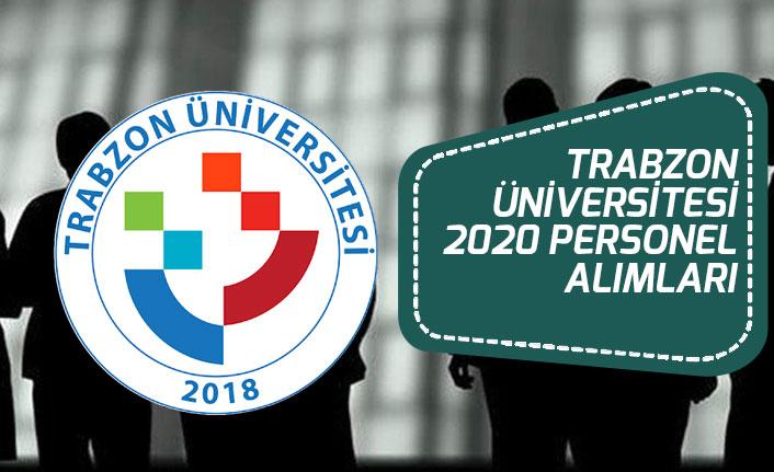 Trabzon Üniversitesi 2020 Personel Alımı Kura Sonuçları ve KİK Toplantısı!
