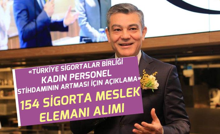 Türkiye Sigortalar Birliği Kadın Personel İstihdamının Artması İçin Açıklama