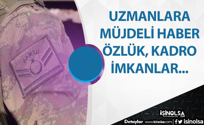 Uzman Çavuşlara Özlük Hakları ve Kadro Verilmesi Müjdesi MHP'den
