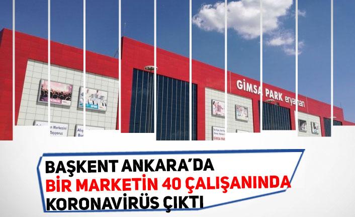 Başkent Ankara'da Markette Çalışan 40 Kişinin Testi Pozitif Çıktı! Market Kapatıldı!