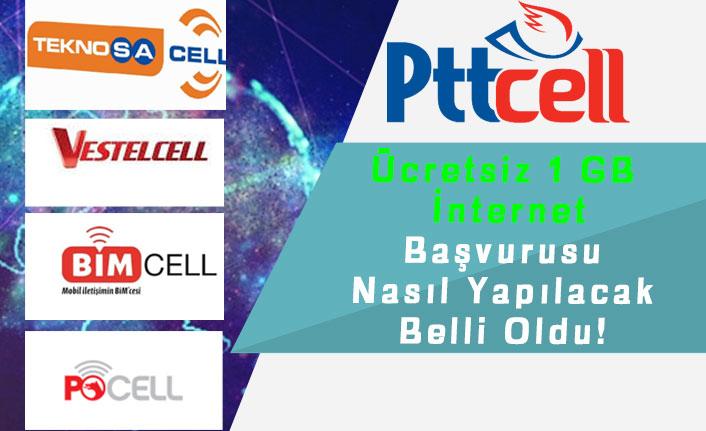 BİMcell, Pttcell, POCELL, Teknosacell, Vestelcell ve Ramazan Paketi Ücretsiz 1 GB İnternet Başvurusu!