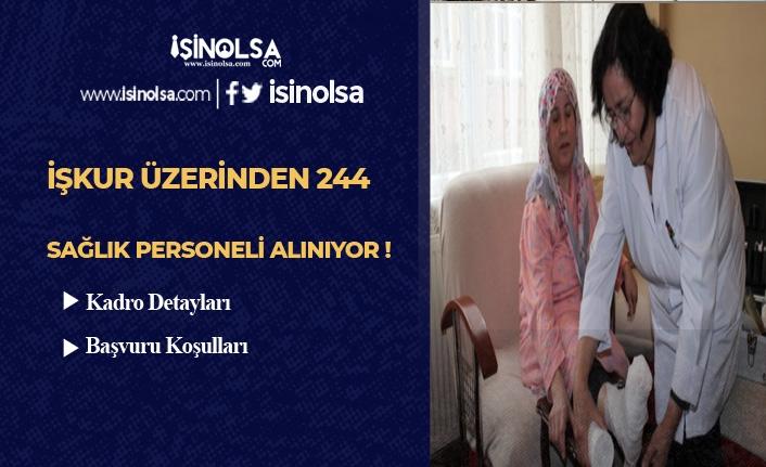 İŞKUR Üzerinden 244 KPSS Şartsız Sağlık Personeli Alınacak