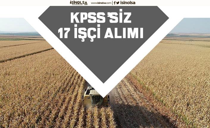 Belediye Yeni İlan Açıkladı! KPSS'siz 17 Çiftçi İşçi Alımı Yapacak!