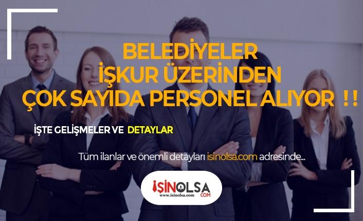 İŞKUR Üzerinden 27 Belediye KPSS Şartsız Personel Alacak!