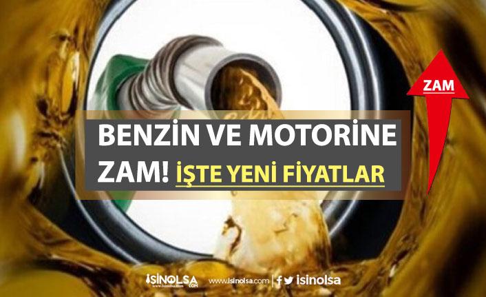 Benzin ve Motorine Zam! İşte İstanbul, Ankara, İzmir Zamlı Benzin Fiyatları!