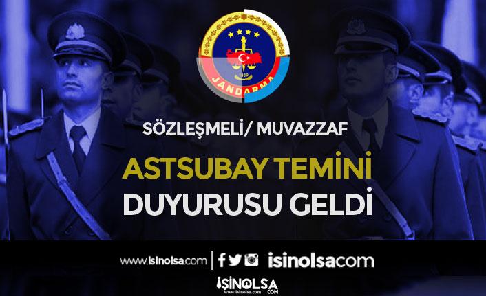 Jandarma ve Sahil Güvenlik 2020 Muvazzaf / Sözleşmeli Astsubay Duyurusu Geldi