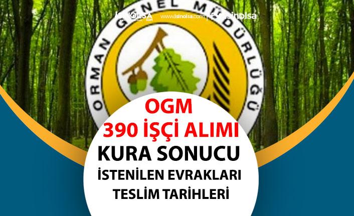 Orman Müdürlüklerine 390 İşçi Alımı Kura Sonuçları Asil ve Yedek Listeler! İstenilen Evraklar!
