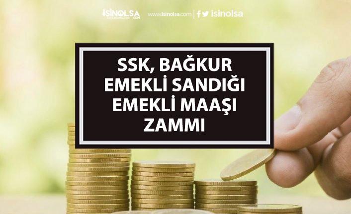 SSK, Bağkur, Emekli Sandığı Temmuz Emekli Maaş Zammı Gelişmeleri!