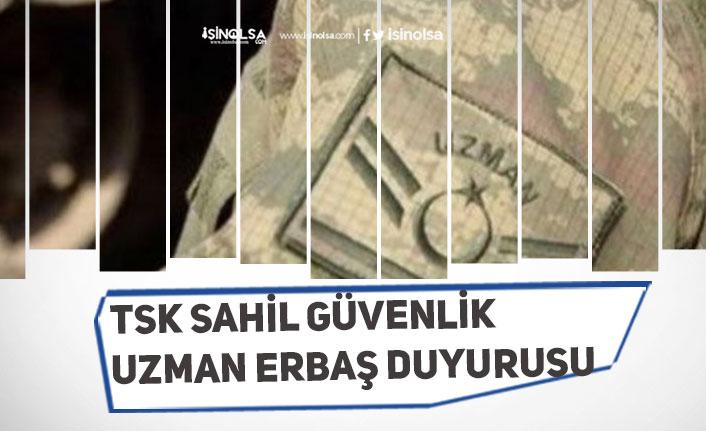 TSK Sahil Güvenlik Uzman Erbaş Başvuru Sonucu, Sınav Tarihi Açıklaması Geldi!