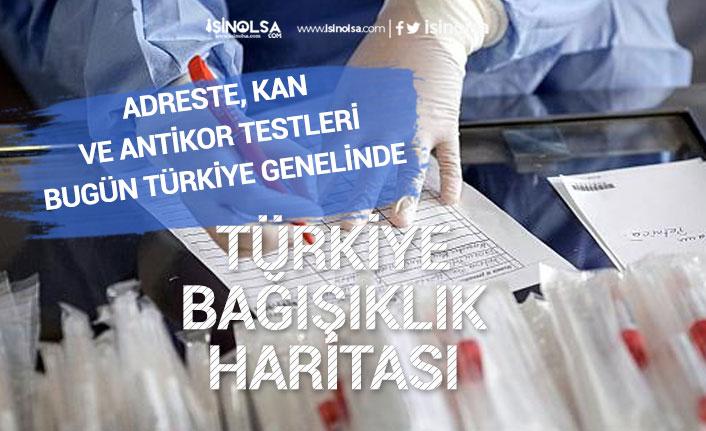 Türkiye Bağışıklık Haritası için Kan, Antikor Testleri Ülke Genelinde Başladı!