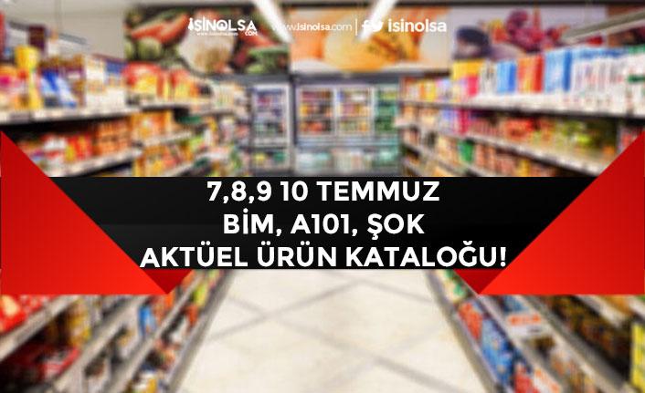 8, 9, 10 Temmuz Bim, A101 Şok Aktüel Ürün Kataloğu! İndirimleri!