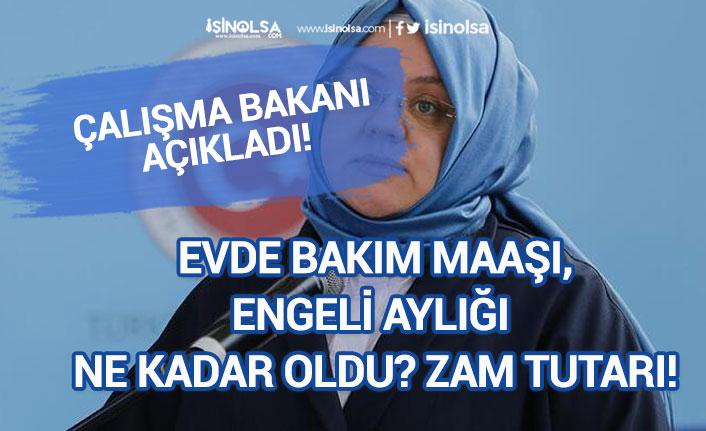 Evde Bakım Maaşı, Engelli Aylığı Temmuz Ayı Zammı Ödeme Tarihi!