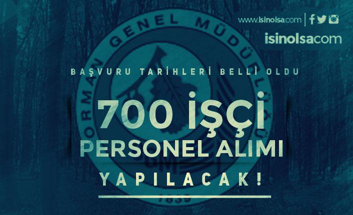 OGM Türkiye Geneli 700 İşçi Personel Alımı Şartları ve Kadrolar?