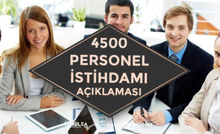 Sanayii Bakanlığı Devlet Destekli Projeye 4500 Personel Alımı İstihdamı!