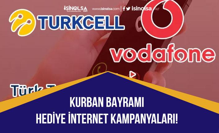 Turkcell, Vodafone, Türktelekom Bayramda Ücretsiz İnternet Kampanyaları!