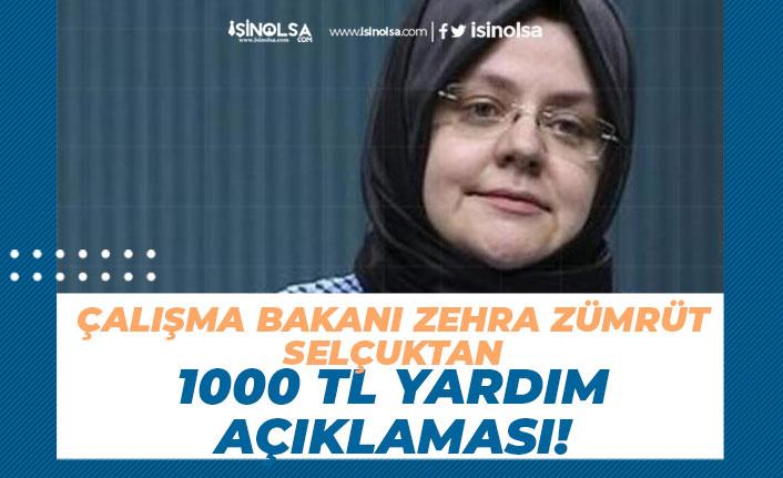 AÇSHB 1.2 Milyon Haneye 1000 TL Sosyal Yardım Açıklaması!