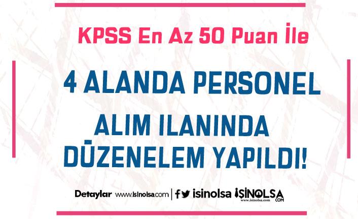 KPSS 50 Puan İle Üniversiteye Personel Alımında Düzeltme İlanı Yayımlandı