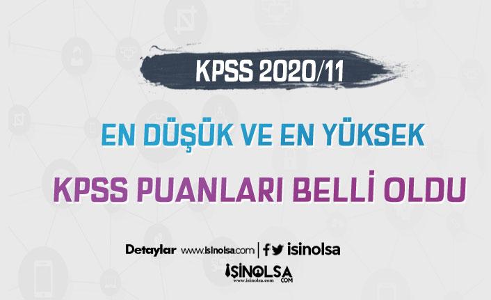 2020/11 Memur Alımı İçin En Düşük ve En yüksek KPSS Atama Puanları Belli Oldu!