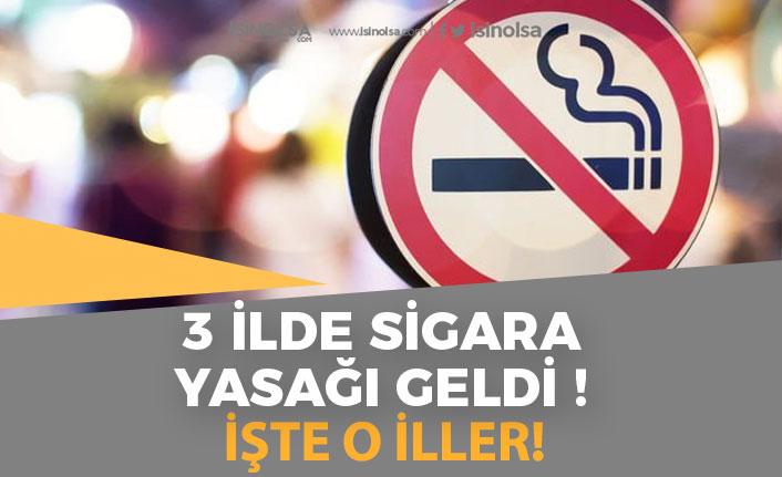 3 İlde Sokakta Sigara İçmek Yasaklandı! Yeni Koronavirüs Tedbiri!