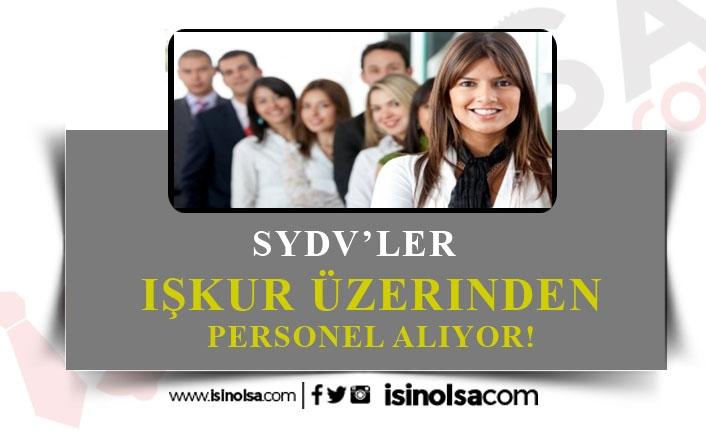4 SYDV Farklı Kadrolarda Personel Alıyor!