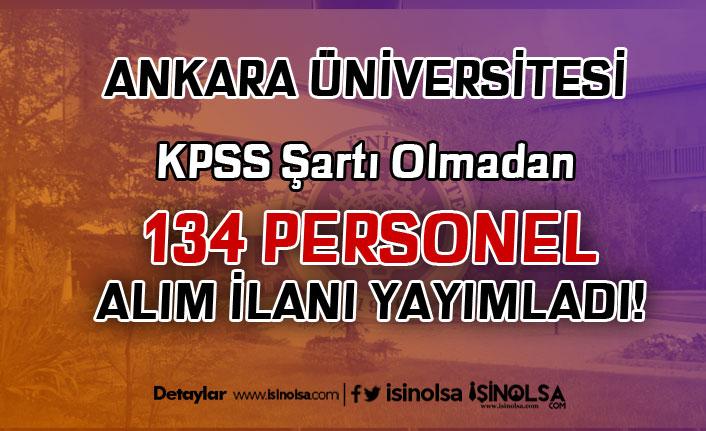 Ankara Üniversitesi İŞKUR Üzerinden 134 Hasta Bakımı Elemanı Alımı Yapacak